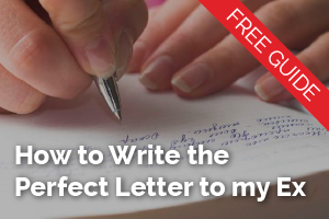 how to write the perfect letter to my ex to get back together