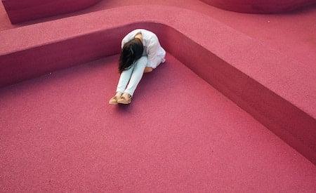 woman after breakup