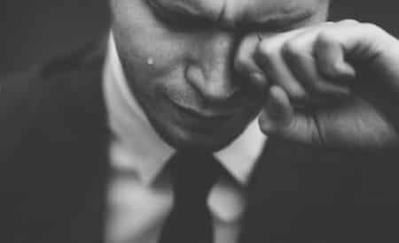 man who cries