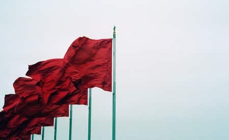 red flags in relationship